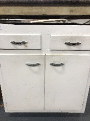 2 Drawer 2 Door 30\u201dx34.5\u201dx23\u201d